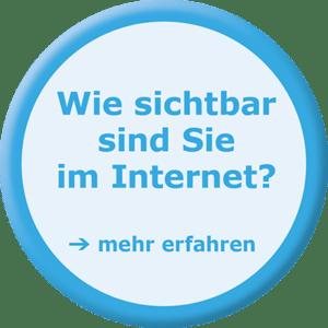 Wie sichtbar sind Sie im Internet?