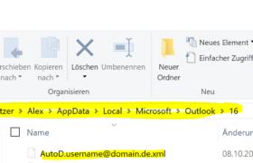 Outlook 2016 Fehler beim Anmelden beheben